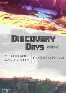 booklet Discovery Days _ for brazilian