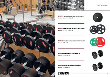 Free Weights |Foreman Dumbbells and Plates