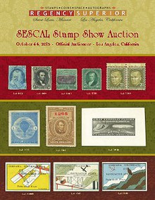 SESCAL Stamp Catalog 2013