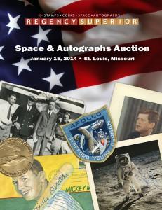 Space & Autographs Auction Space & Autographs Auction Jan. 2014