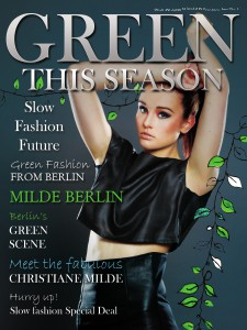 Green This Season - Digital Conscious Fashion Magazine February 2013