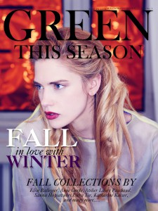 Green This Season - Digital Conscious Fashion Magazine Issue #4