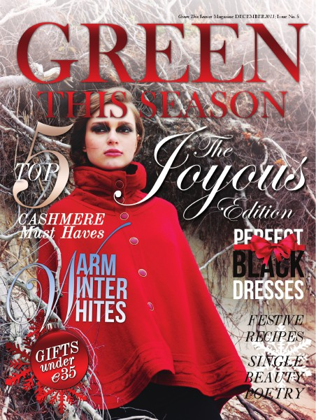 Green This Season - Digital Conscious Fashion Magazine Issue #5
