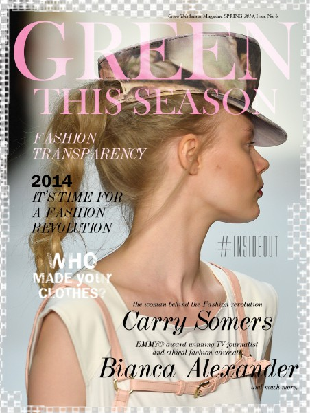 Green This Season - Digital Conscious Fashion Magazine 2014 - #1