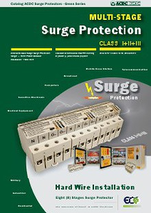Mutistage Surge Protectors