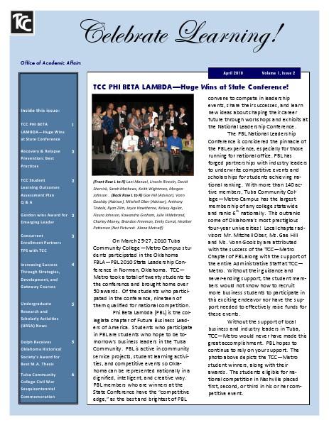 Spring 2010 (Volume 1, Issue 2)