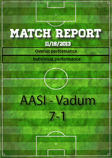 Match report sample