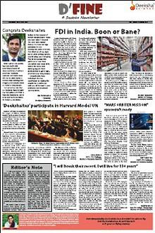 D'fine- A Deeksha Newsletter