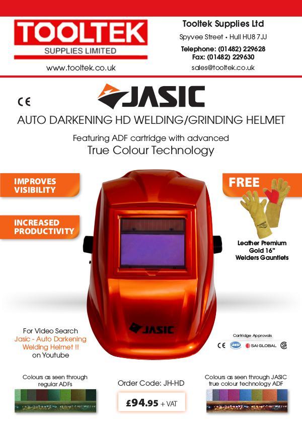 Tooltek Promotions Tooltek Helmet Leaflet