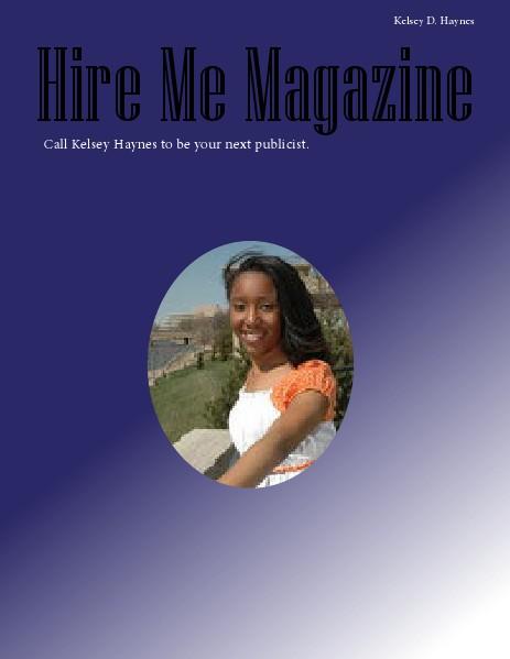 Senior Portfolio online magazine 2