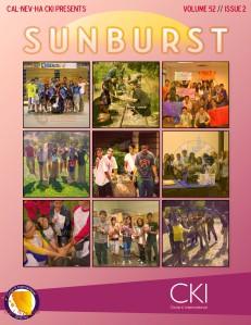 CNH CKI's The Sunburst Volume 55, Issue 3 Volume 52, Issue #2