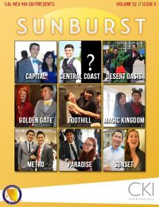 CNH CKI's The Sunburst Volume 55, Issue 3 Volume 52, Issue #4