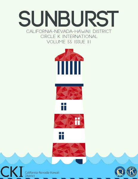 CNH CKI's The Sunburst Volume 55, Issue 3 Volume 55, Issue 3