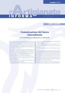 L'Artigianato Informa Maggio 2013