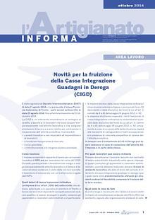 L'Artigianato Informa