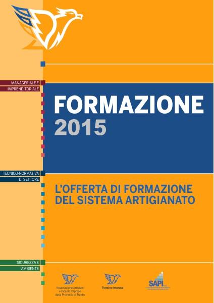 Catalogo Formazione 2015 Offerta formativa 2015