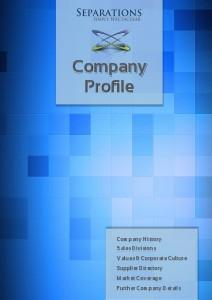 Company Profile 2013