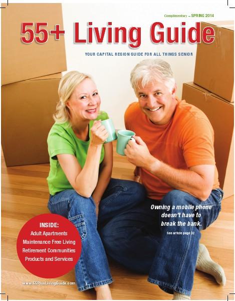 55+ Living Guide Spring 2014