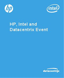 HP, Intel and Datacentrix Event 2013