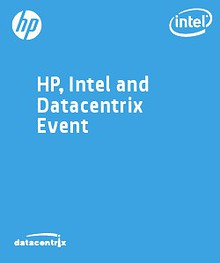 HP, Intel and Datacentrix Event