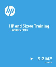 HP and Sizwe Training – January 2014