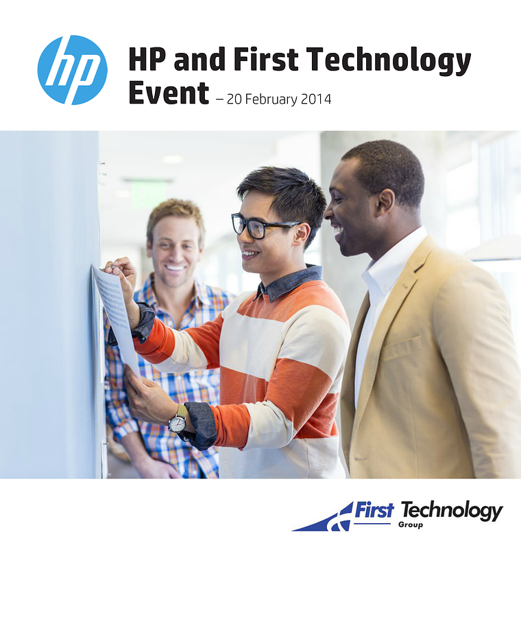 HP and First Technology Event – 20 February 2014 02