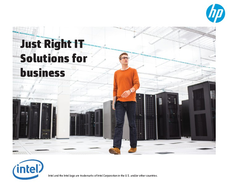 HP and Intel SMB strategy session on 29 & 30 July 02