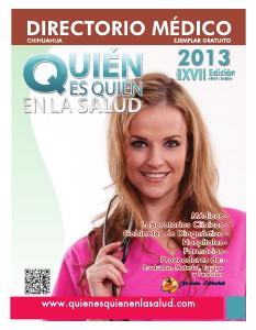 Directorio Médico Quien es Quien en la Salud de Chihuahua Octubre 2013