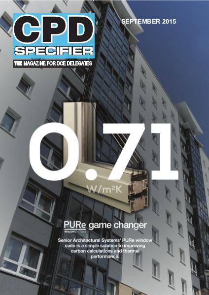 CPD Specifier May 2015 issue September 2015