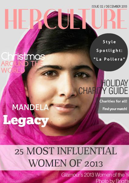 Her Culture Bi-Monthy Magazine Dec. 2013