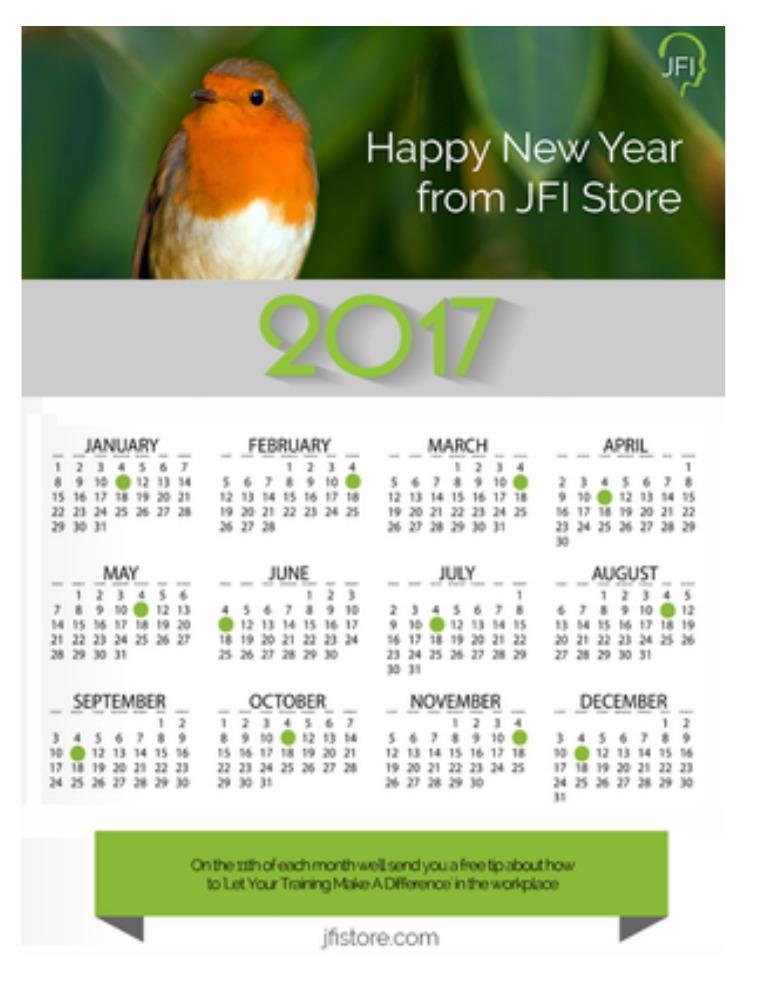 JFI 2017 Digital Calendar January 2017