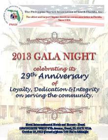 2013 PNASF Gala - 29th Anniversary - Souvenir Program