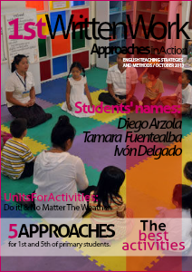 1st written work: approaches in action 1