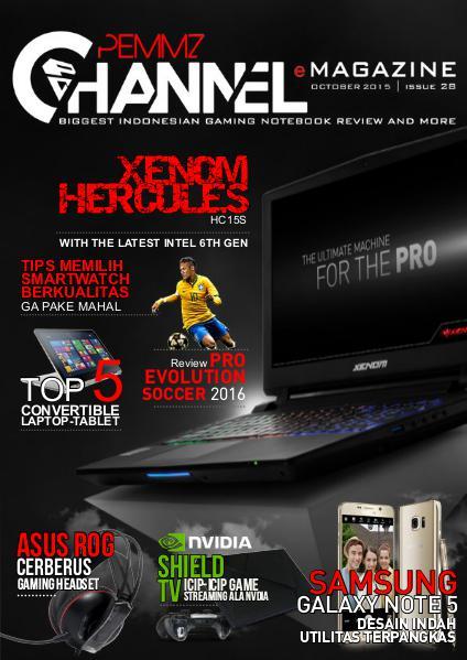 Pemmzchannel e-Magazine #28 (Oktober 2015)