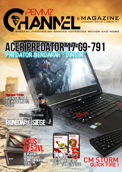 Pemmzchannel e-Magazine #31 (Januari 2016)