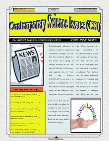 Contemporary Science Issue - Newsletter