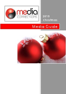 Media Connections Media Guides Christmas 2013 Issue 1