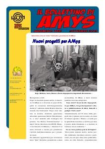 AMys - Bollettino Informativo n.3 Settembre 2013