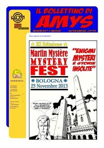 AMys - Bollettino Informativo n.5 Novembre 2013