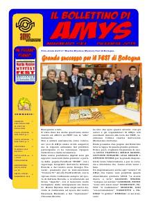 AMys - Bollettino Informativo N.6 Dicembre 2013