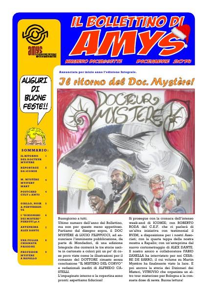 AMys - Bollettino Informativo N.17 Dicembre 2014
