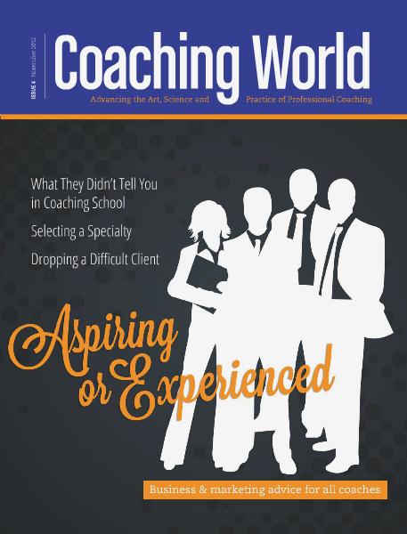 Coaching World Issue 4: November 2012