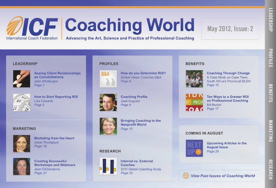 Coaching World Issue 2: May 2012