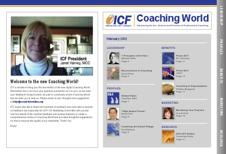 Coaching World Issue 1: February 2012