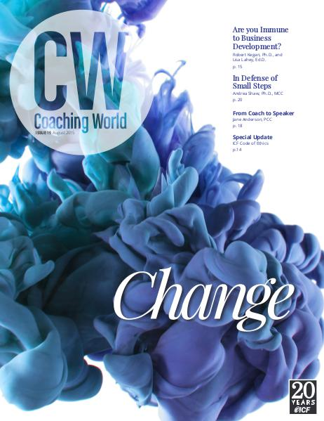 Coaching World Issue 15: August 2015