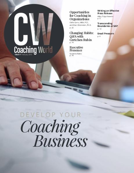 Coaching World Issue 17: February 2016