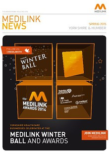 Medilink Yorkshire and Humber News - Spring 2015