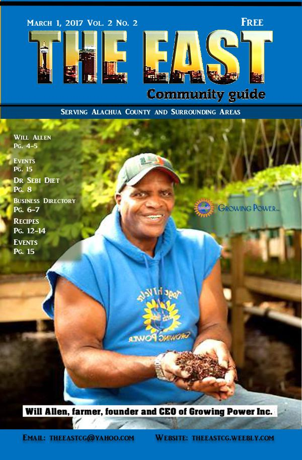 The East Community Guide March 1, 2017 Vol. 2 No3