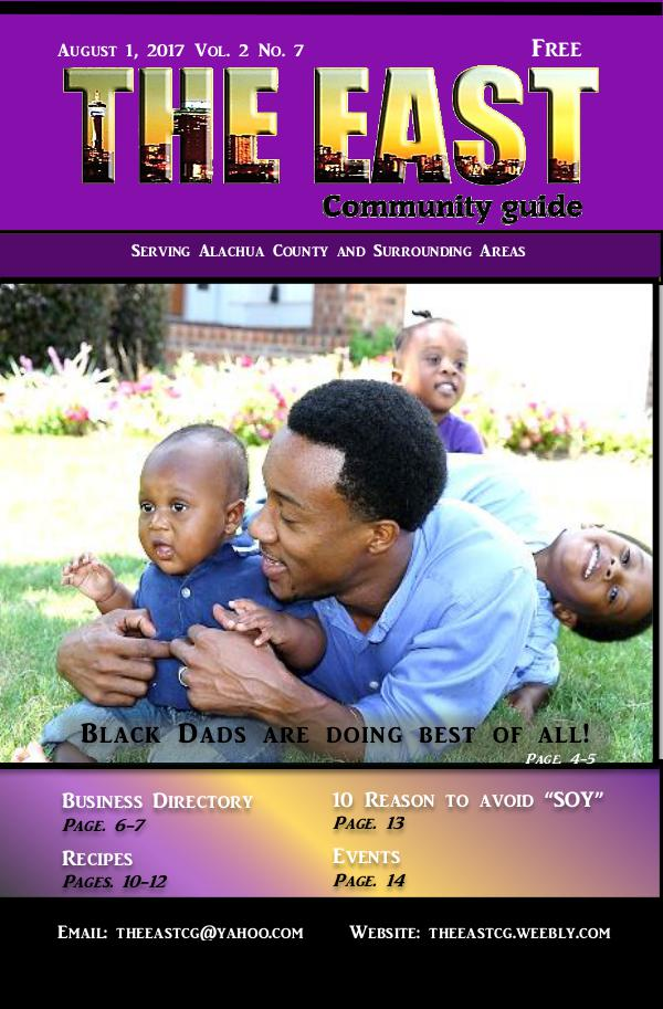The East Community Guide - Gainesville, FL August 2017 the east take2
