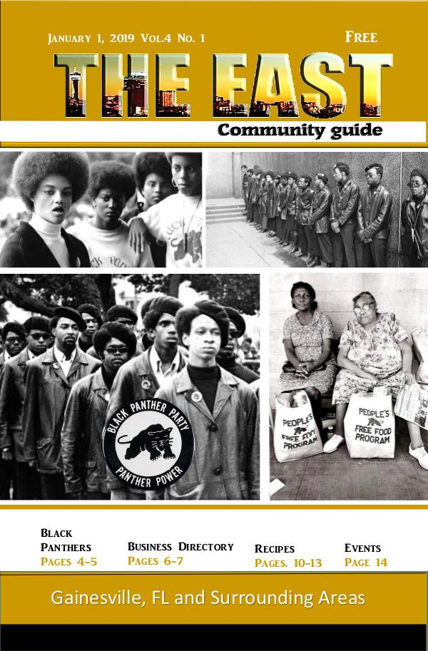 The East Community Guide - Gainesville, FL Jan 2019 the east take 4